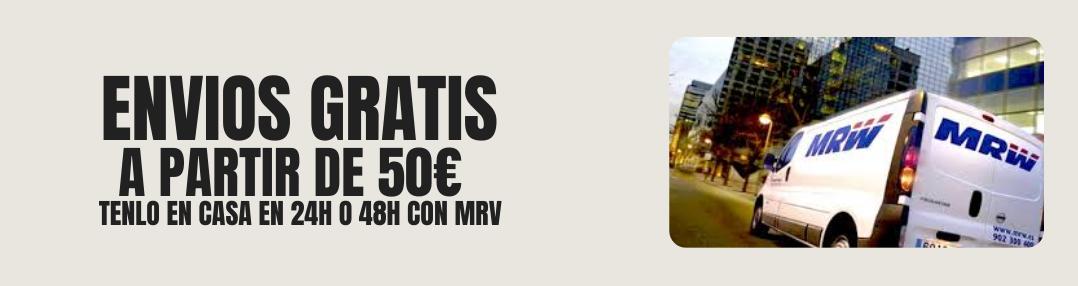 Envios gratis a partir de 50€